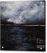 A Break In The Skyline Acrylic Print by Frances Marino