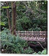 A Bridge In Central Park Acrylic Print