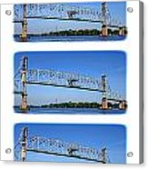 A Bridge Opening Acrylic Print