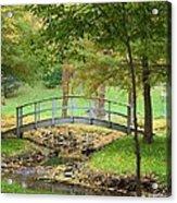 A Bridge To Peacefulness Acrylic Print