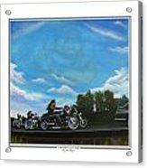A Brother's Last Ride Acrylic Print