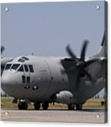 A Bulgarian Air Force Alenia C-27j Acrylic Print