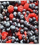 A Bunch Of Berries Acrylic Print