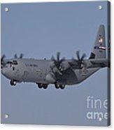 A C-130j Super Hercules Of The 317th Acrylic Print