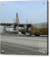 A C-130j Super Hercules Acrylic Print