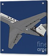 A C-20 Gulfstream Jet In Flight Acrylic Print