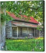 A Cabin In The Woods Acrylic Print