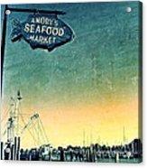 A Catch Since 1917 Acrylic Print by Scott Allison