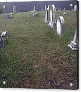 A Cemetery In New Salem Acrylic Print