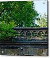 A Central Park Bridge Acrylic Print