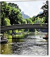 A Central Park Day Acrylic Print