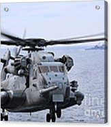 A Ch-53e Super Stallion Conducts Flight Acrylic Print