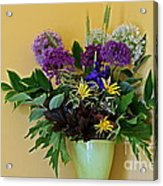 A Chanticleer Spring Bouquet Acrylic Print