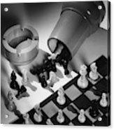A Chess Set Acrylic Print