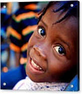 A Child's Smile Is One Of Life's Greatest Blessings Acrylic Print