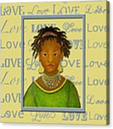 A Child's Whispers Of Love Acrylic Print by The Art With A Heart By Charlotte Phillips
