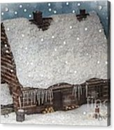 A Christmas In My Dreams Acrylic Print