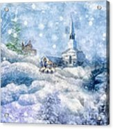 A Christmas To Remember Acrylic Print