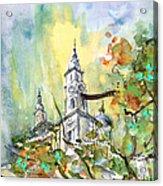 A Church In Budapest 02 Acrylic Print