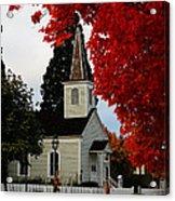 A Church In Historic Jacksonville Acrylic Print