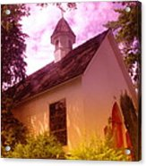 A Church In Prosser Wa Acrylic Print