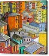 A Cinque Terre Village Acrylic Print
