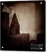 A City With No Name Acrylic Print