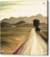 A Classic Landscape Acrylic Print
