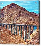 A Closer Look At Pat Tillman Bridge Acrylic Print