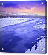 A Cold New Years Eve Acrylic Print