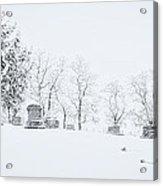 A Cold Palouse Acrylic Print