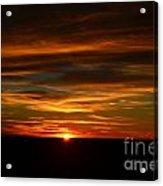 A Colorado Sunrise Acrylic Print