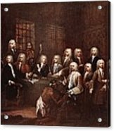 A Committee Of The House Of Commons Acrylic Print