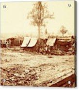 A Confederate Redoubt, Us, Usa, America Acrylic Print