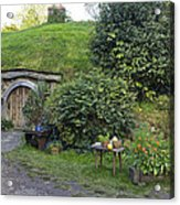 A Cosy Hobbit Home In The Shire Acrylic Print