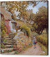 A Country Lane Acrylic Print