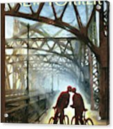 Fifty Ninth Street Bridge Acrylic Print