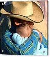 A Cowboy's Love Acrylic Print
