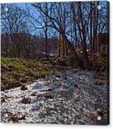 A Creek Runs Though It Acrylic Print