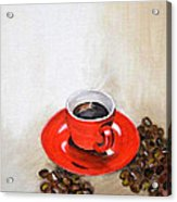 A Cup Of Coffee Acrylic Print