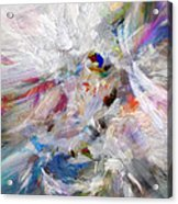 A Dance With Paint Acrylic Print