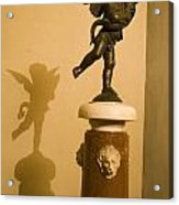 A Dancing Cupid In The Palazzo Vecchio Acrylic Print