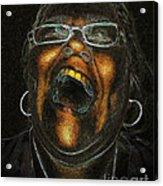 A Dark Laugh Acrylic Print