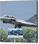 A Dassault Rafale Of The French Air Acrylic Print