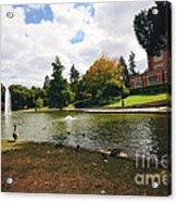 A Day At Mirror Lake Acrylic Print
