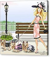 A Day At The Derby Acrylic Print