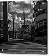 A Day At The Dock Acrylic Print