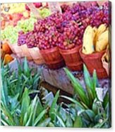 A Day At The Market #15 Acrylic Print