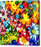 A Day In Spring Acrylic Print