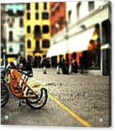 A Day In The City Acrylic Print by Cole Black